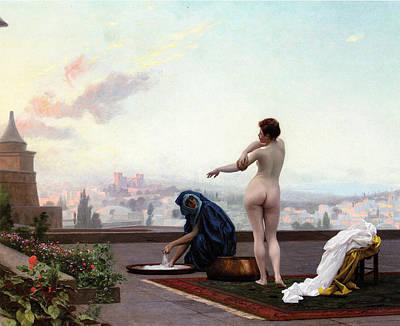 Femininity Painting - Bathsheba by Jean-Leon Gerome