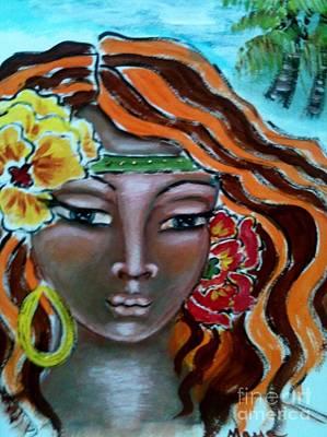 Painting - Bathsheba by Maya Telford