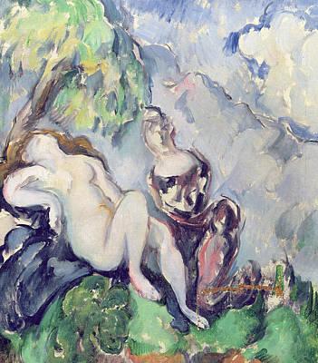 Erotica Painting - Bathsheba by Paul Cezanne