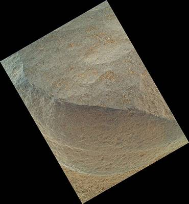 Merging Photograph - Bathurst Inlet, Mars, Curiosity Image by Science Photo Library