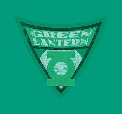 Halloween Digital Art - Batman Bb - Green Lantern Shield by Brand A