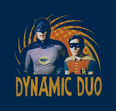 Halloween Digital Art - Batman Classic Tv - Dynamic by Brand A