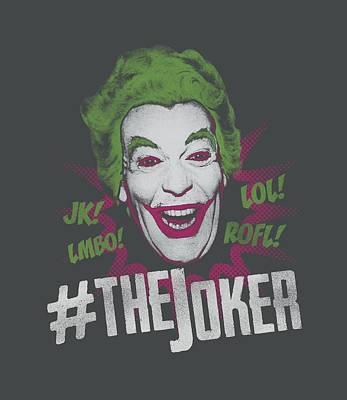 Halloween Digital Art - Batman Classic Tv - #joker by Brand A