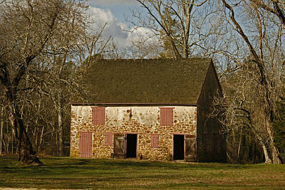 Photograph - Batsto Barn by Kristia Adams