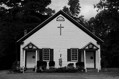 Photograph - Batsto-pleasant Mills United Methodist Church by George Miller