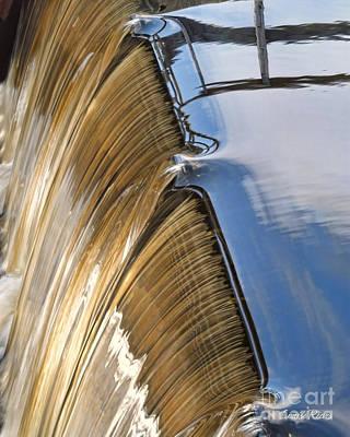Batsto Waterfall Art Print by Louise Reeves