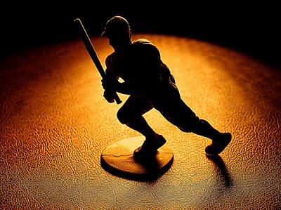 Baseball Players Digital Art - Batter Batter by Camille Lopez