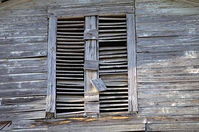 Photograph - Battered Window by Gordon Elwell