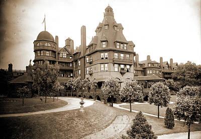 Battery Park Hotel, Asheville, N.c, Jackson Art Print by Litz Collection