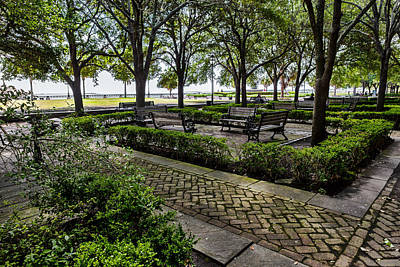 Art Print featuring the photograph Battery Park by Sennie Pierson