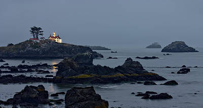 Photograph - Battery Point Lighthouse by Ralph Nordstrom