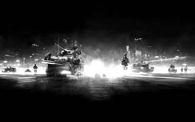 Digital Art - Battle Field by Duane Blubaugh
