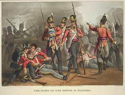 Battle Of Albuera Art Print