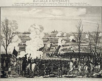 Battle Of Austerlitz Art Print
