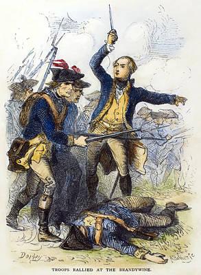 Battle Of Brandywine, 1777 Print by Granger