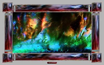 Robert Plant Digital Art - Battle Of Evermore by Geoff Simmonds