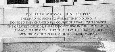 Photograph - Battle Of Midway by Allen Beatty