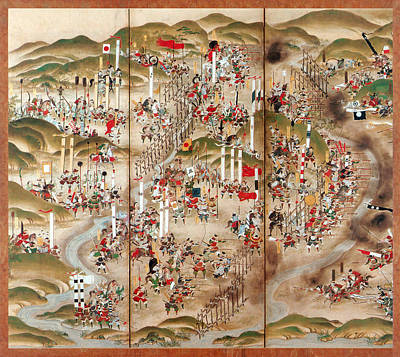 Oda Photograph - Battle Of Nagashino, 1575 by Science Source