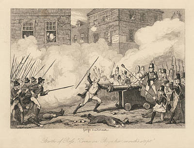 Battle Of Ross Print by British Library