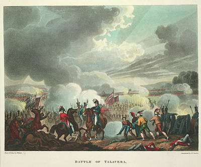 Doctor J Photograph - Battle Of Talavera by British Library