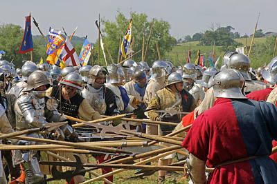 Photograph - Battle Of Tewkesbury by Tony Murtagh