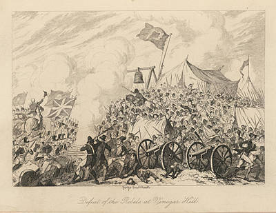 Battle Of Vinegar Hill Art Print by British Library