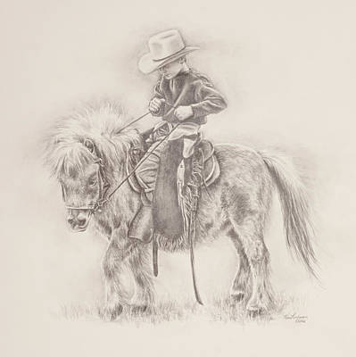 Drawing - Battle Of Wills by Kim Lockman