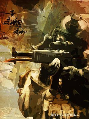 Battlefield 4 Poster Art Print