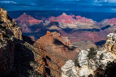 Photograph - Battleship At The Grand Canyon by Ed Gleichman