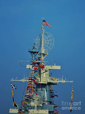 Photograph - Battleship Colors by Bob Sample