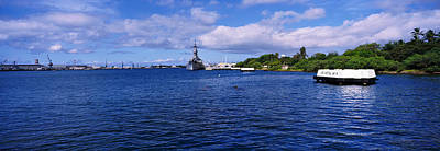 Battleship Photograph - Battleship Missouri Memorial, Pearl by Panoramic Images