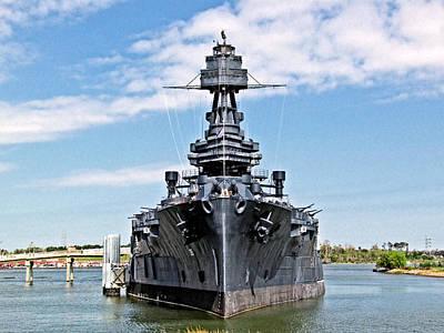 Battleship Texas Art Print