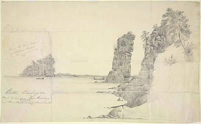 Rock Drawings Photograph - Batu Berlayer by British Library