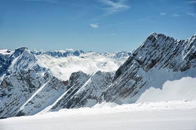 Bavarian Photograph - Bavarian Alps, Germany In Winter by Sheila Haddad