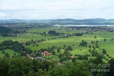 Photograph - Bavarian Green Valley by Carol Groenen