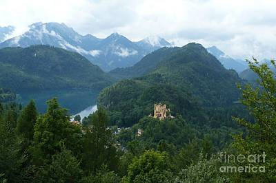 Photograph - Bavarian Lake With Castle by Carol Groenen