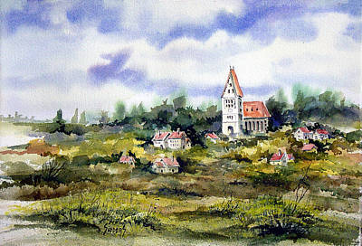 Painting - Bavarian Village by Sam Sidders
