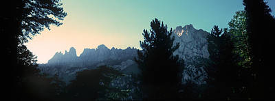 Scenic View In France Photograph - Bavella Needles At Dusk In Summer by Panoramic Images
