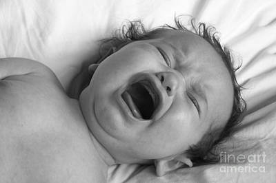 Digital Art - Bawling Baby by Valerie Reeves