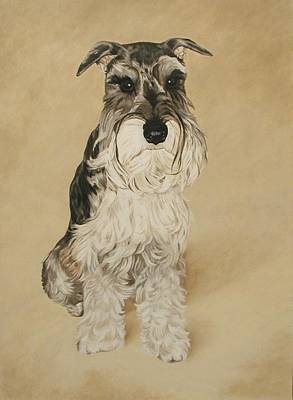 Painting - Baxter by Cynthia Brassfield