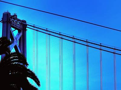 Jerry Sodorff Royalty-Free and Rights-Managed Images - Bay Bridge 19702 by Jerry Sodorff