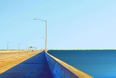 Photograph - Bay Bridge by Ginny Schmidt