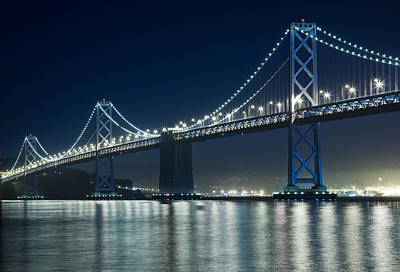 Bay Bridge Digital Art - Bay Bridge by Matthew Bamberg