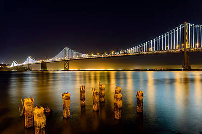Bay Bridge Art Print