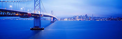 Bay Bridge San Francisco Ca Art Print by Panoramic Images
