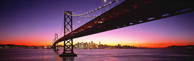 Bay Bridge San Francisco Ca Usa Art Print by Panoramic Images