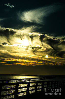 Photograph - Bay Bridge Sunset by Angela DeFrias