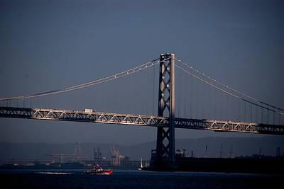 Photograph - Bay Bridge West Span by Eric Tressler