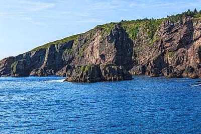 Photograph - Bay Bulls Newfoundland by Perla Copernik
