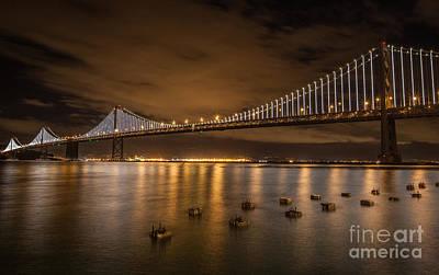 Photograph - Bay City Lights by Charles Garcia